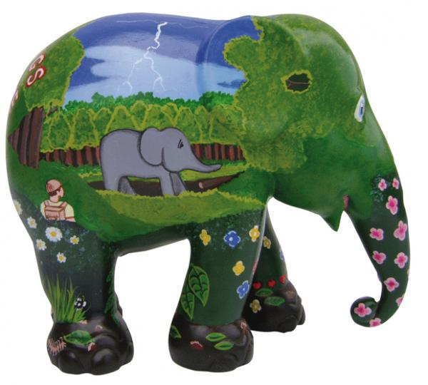 Elephant Parade - Greeting from the Jungle M