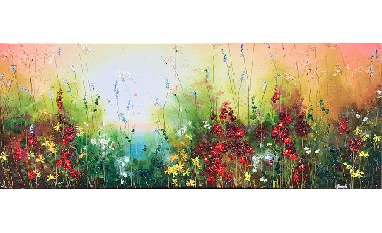 field with flowers - field with flowers